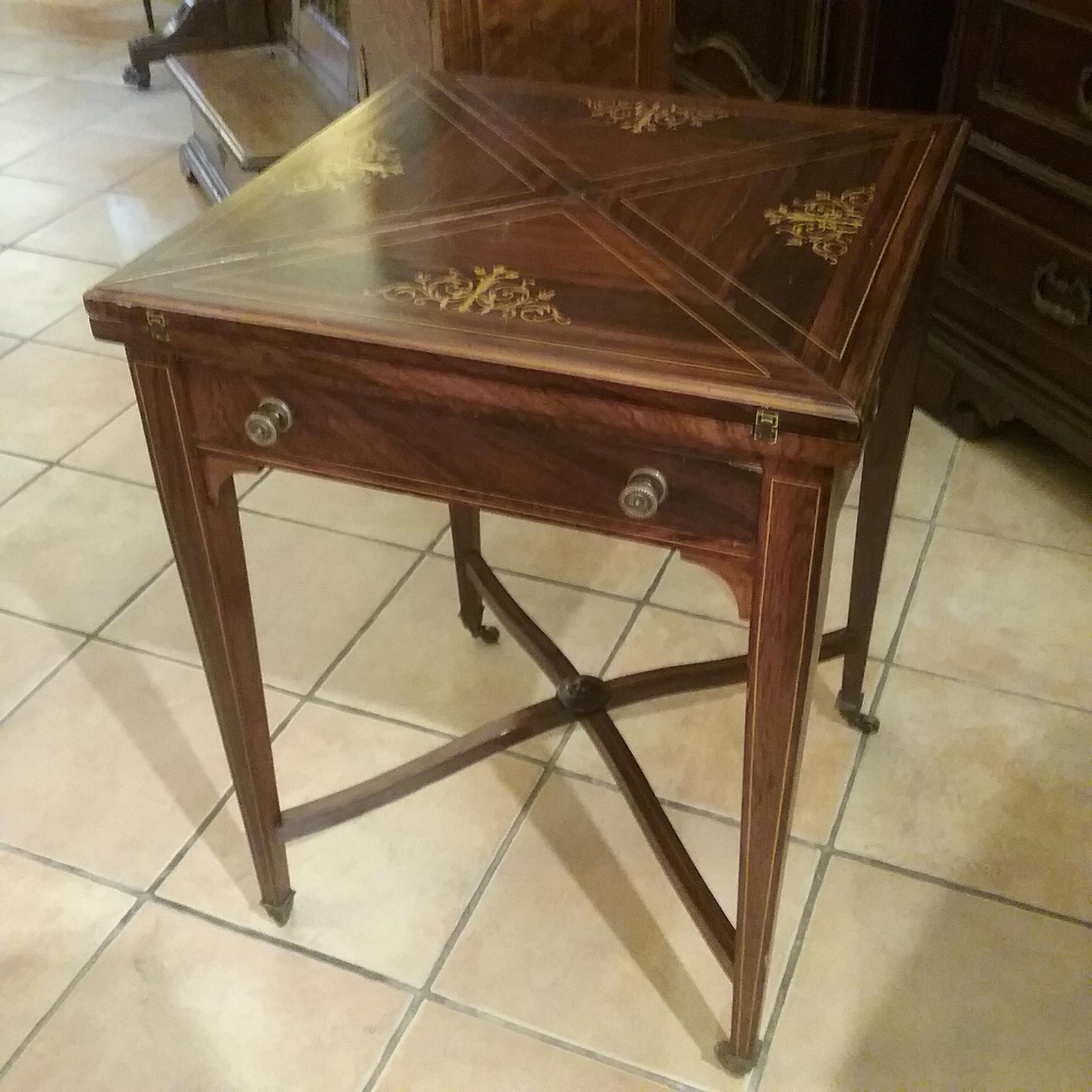 Tavolino Da Gioco Antico.Tavolo Da Gioco Mobili Antichi Burgalassi